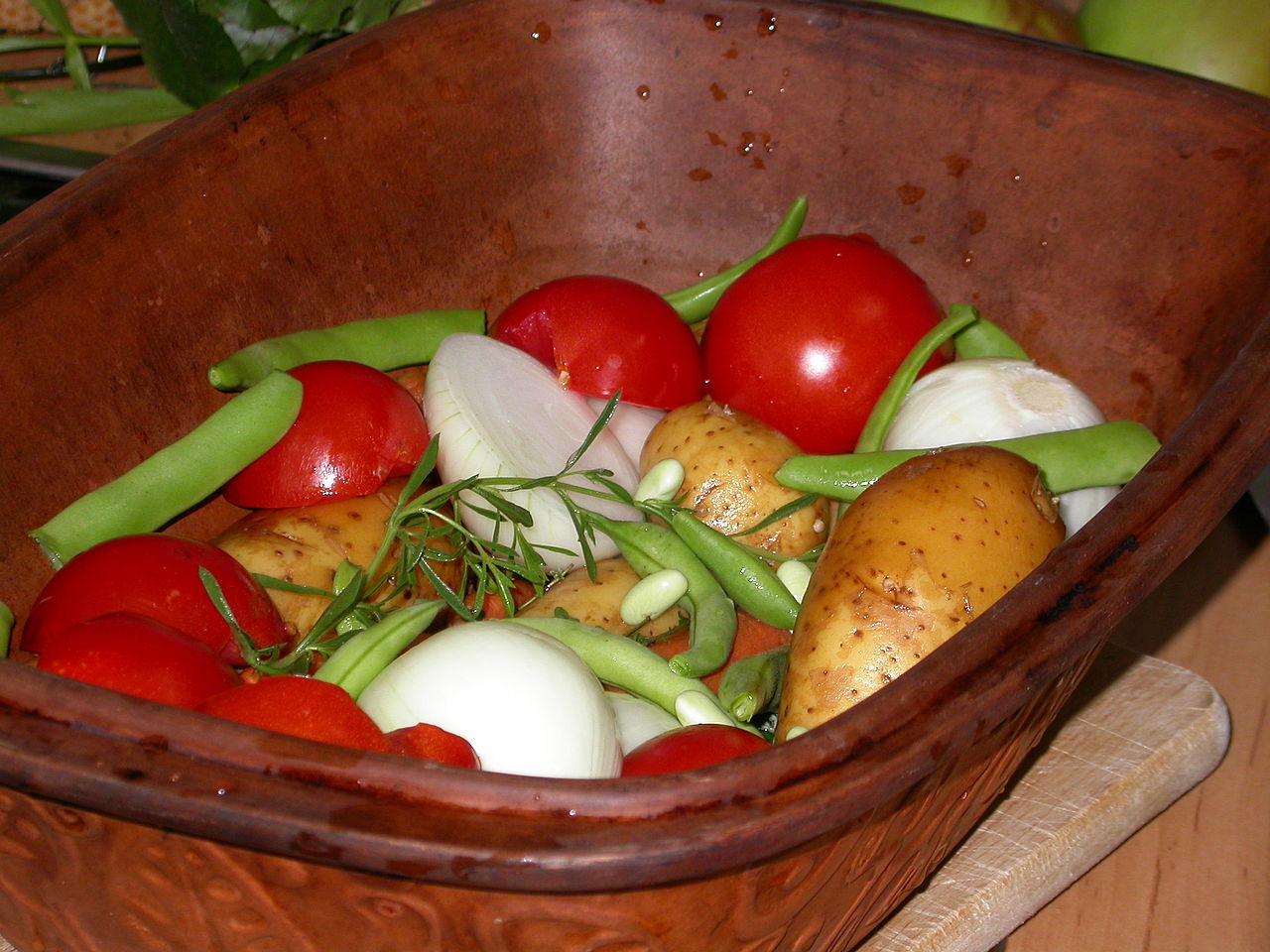 Garnek rzymski – do gotowania i pieczenia